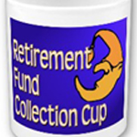 Retirement fund collection cup from omniverz.com